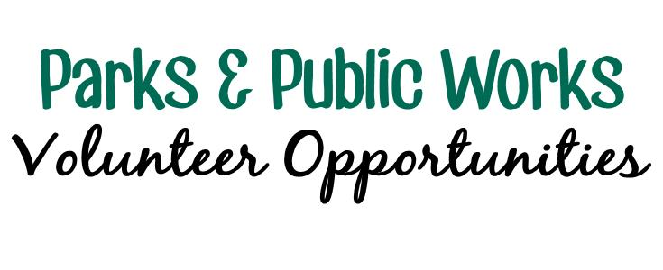 PPW Volunteer Opportunities Text