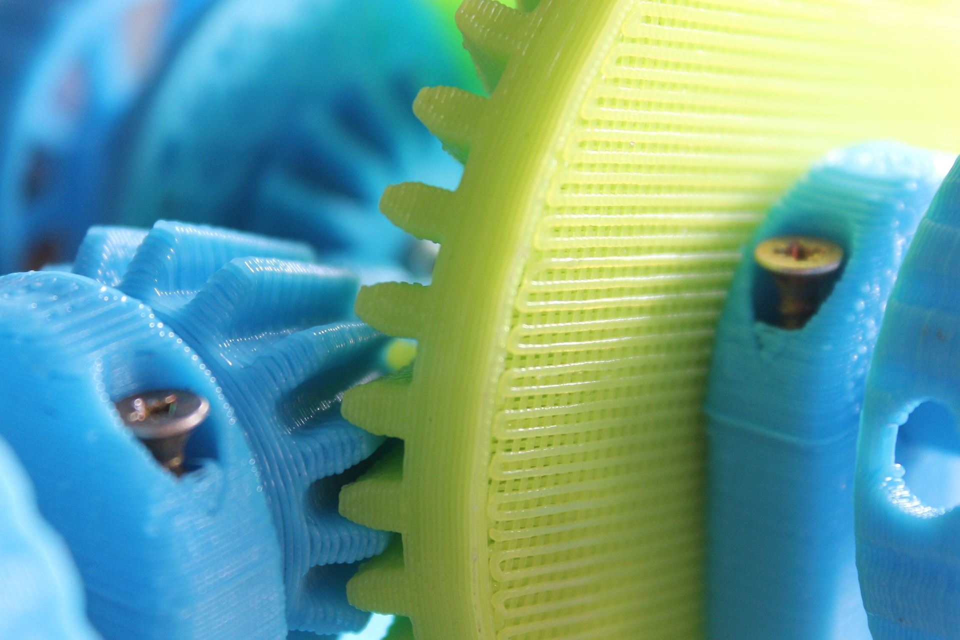 3D Printing Example Gears