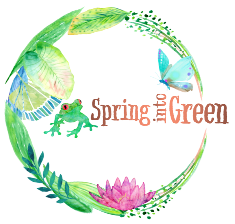 Spring into Green Logo