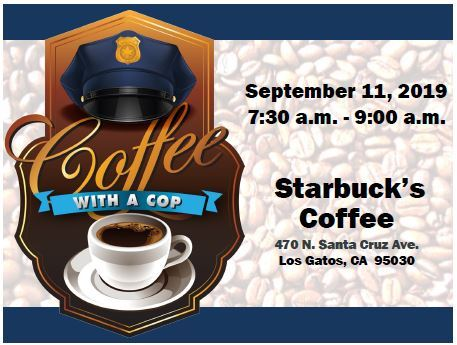 Coffee with a Cop - 9.11.19