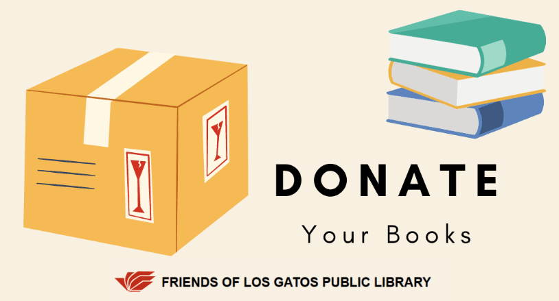 Donate books to the Friends of the Library