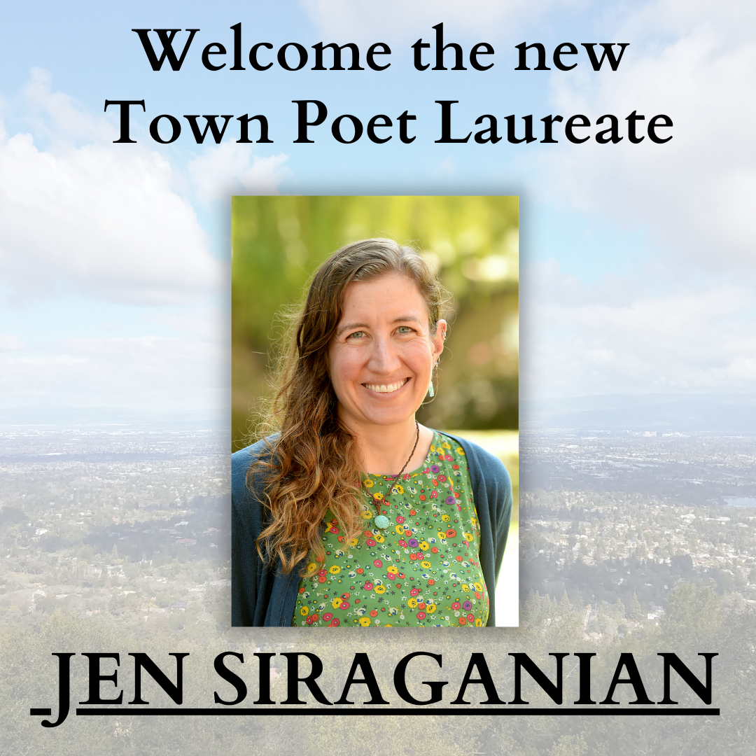 Welcome our new Poet Laureate