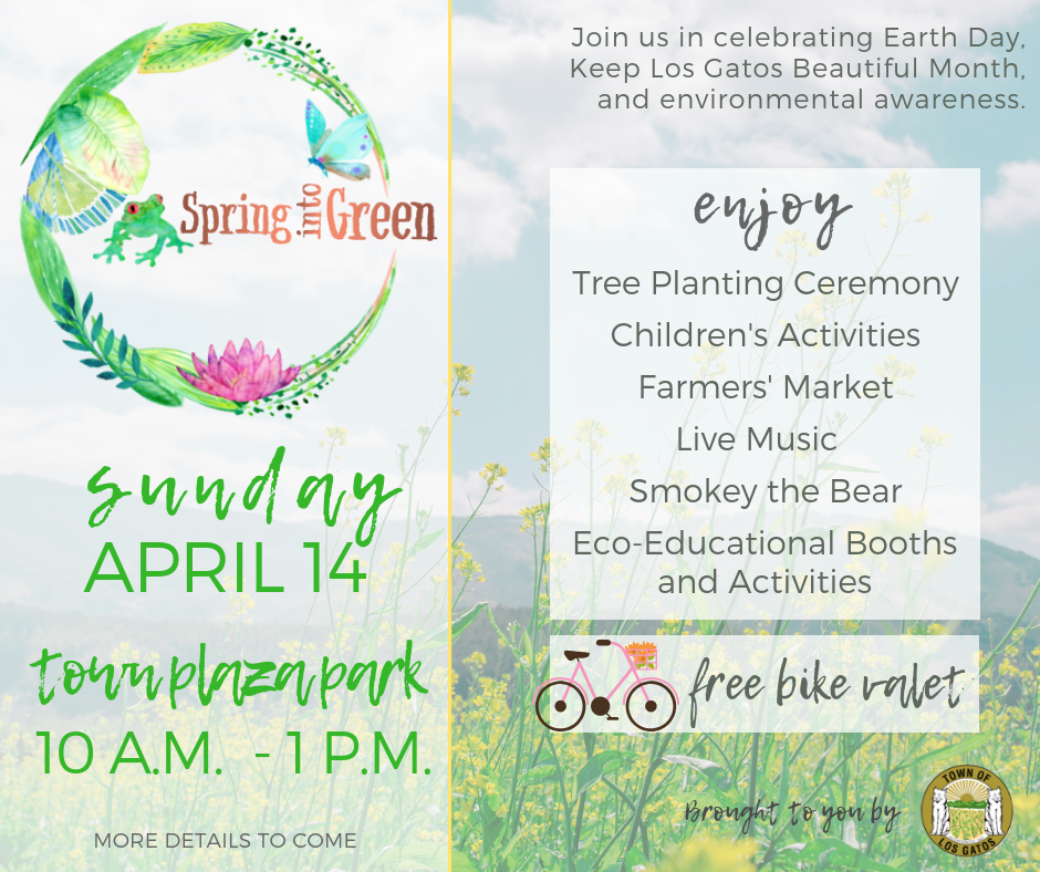 Spring into Green Save the Date