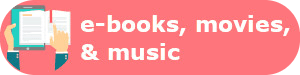 eBooks, Movies, & Music