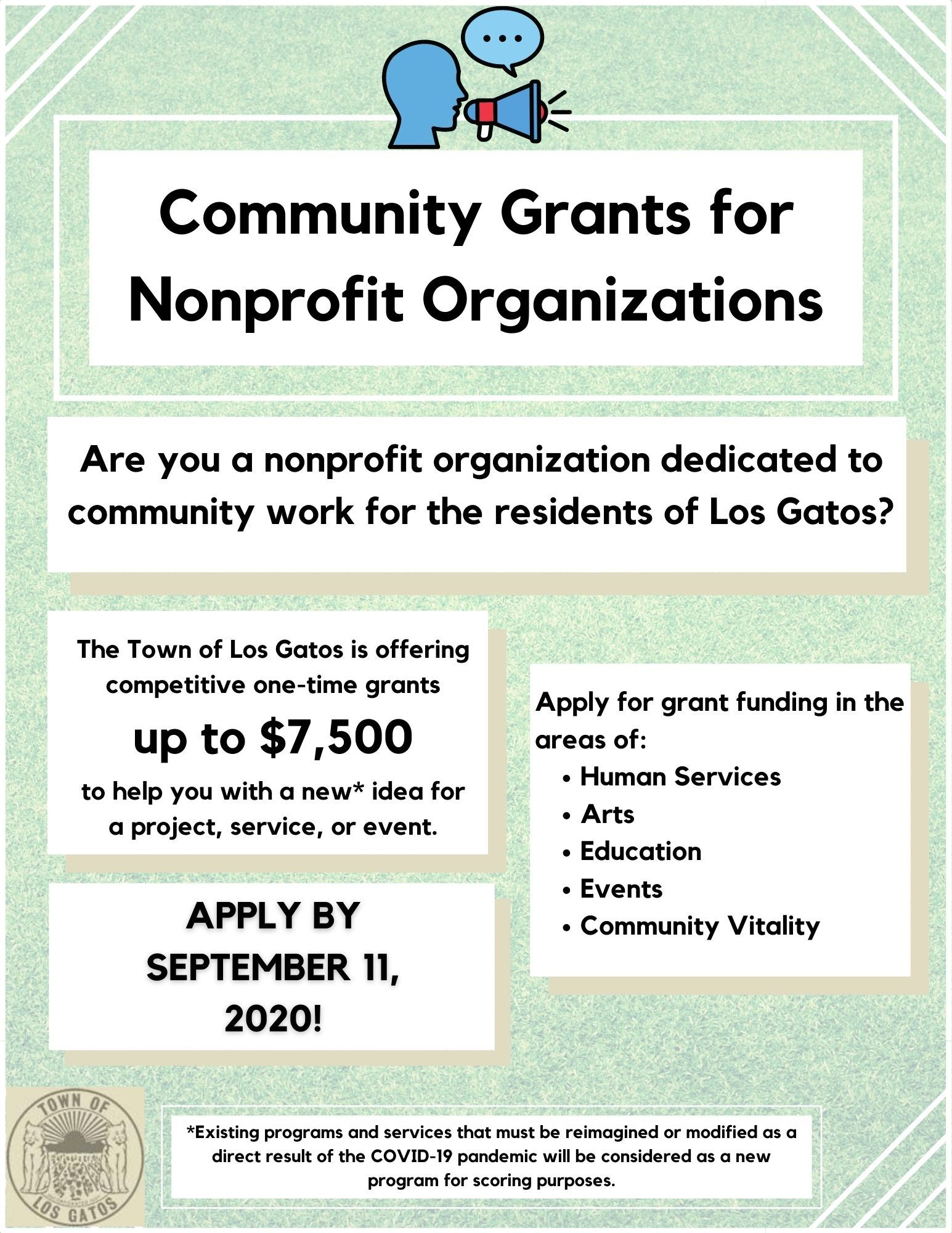 Community Grants for Nonprofit Organizations
